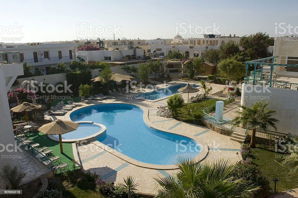 Resort royalty-free stock photo