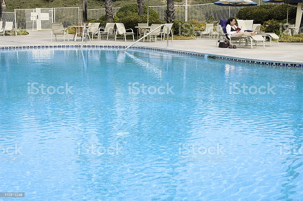 Resort Pool royalty-free stock photo