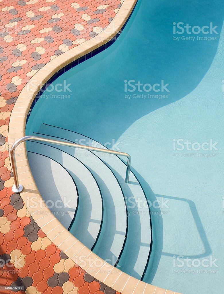 Resort Swimming Pool royalty-free stock photo