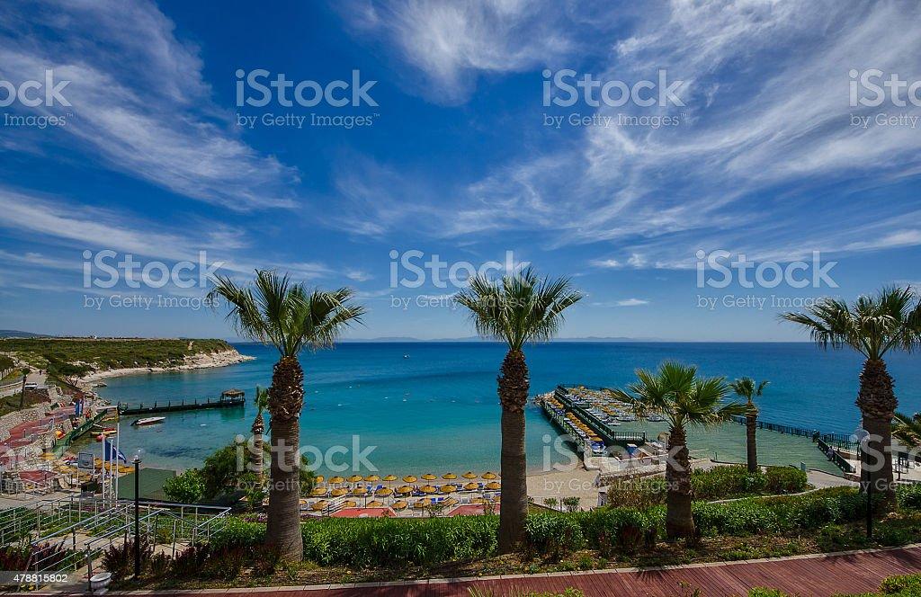 Resorts of Turkey - Didyma stock photo