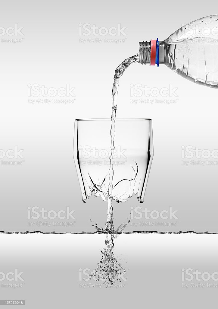 Resources lost stock photo