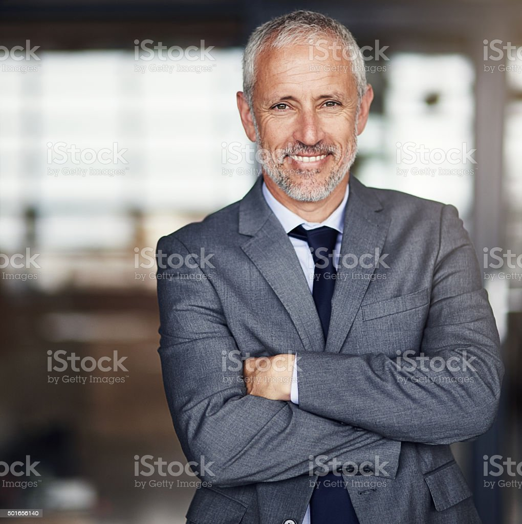 Respect the suit stock photo
