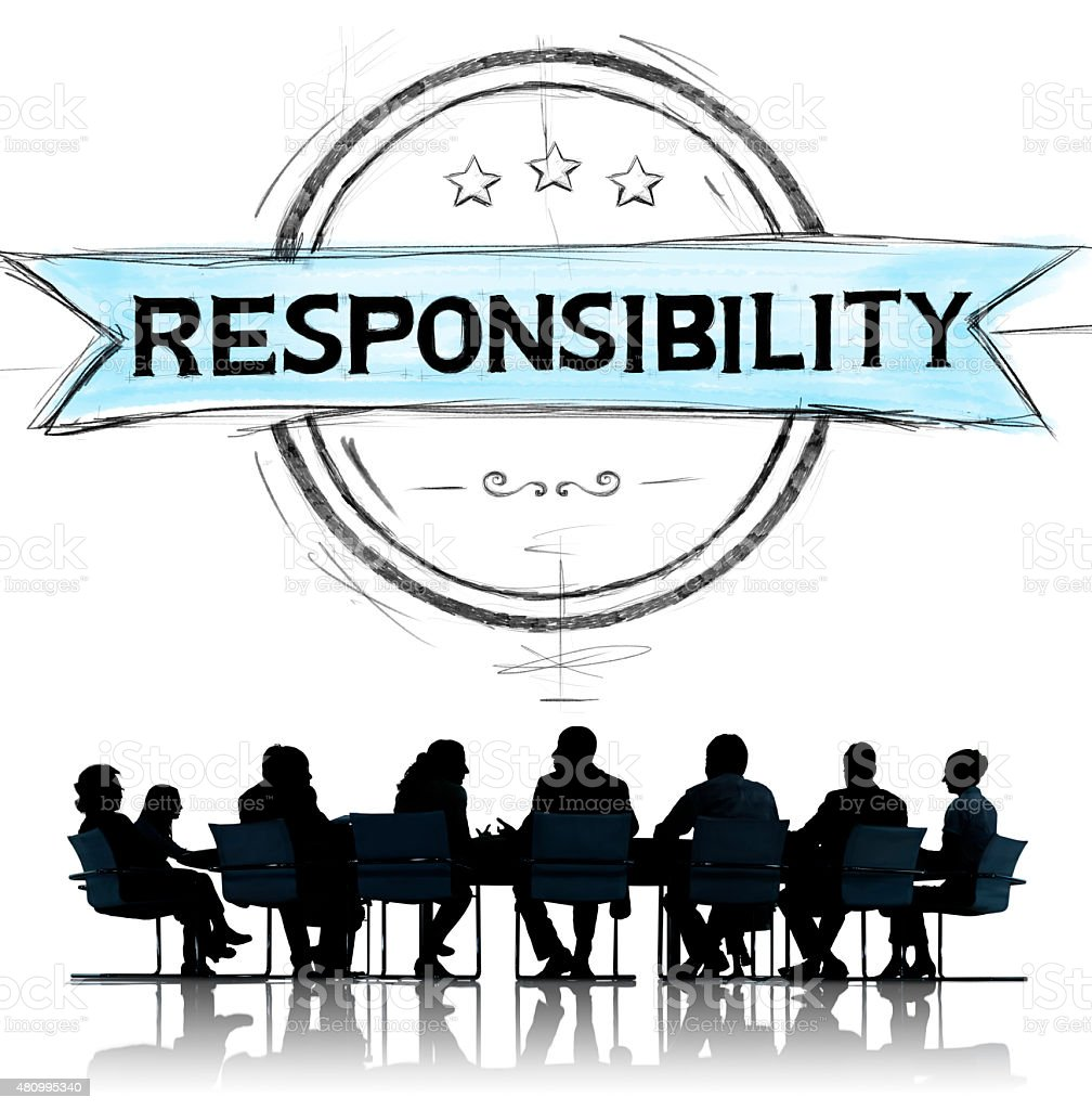 Responsibility Reliability Trust Liability Trustworthy Concept stock photo