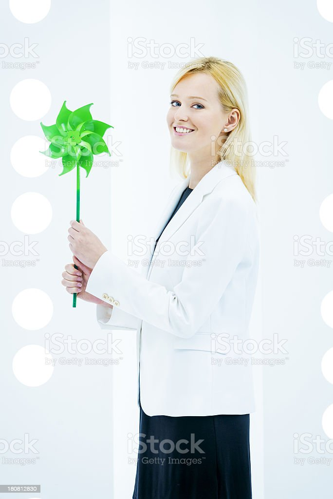Responsible green business royalty-free stock photo