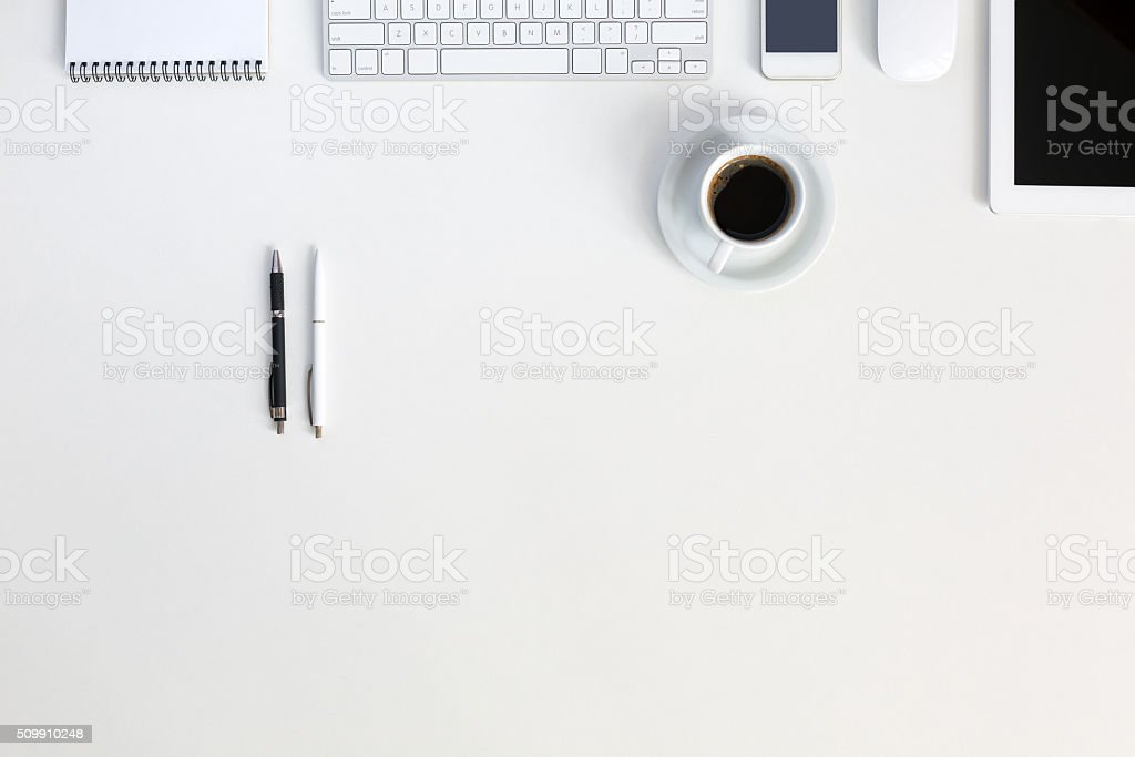 Responsive Design Mockup High Technology Composition stock photo