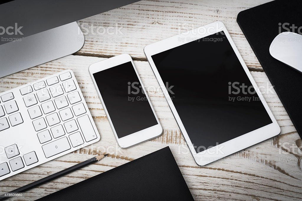 Responsive webdesign stock photo