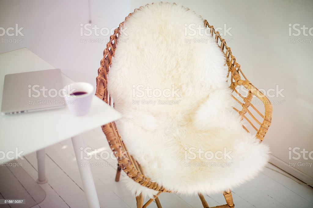 Rest corner. stock photo