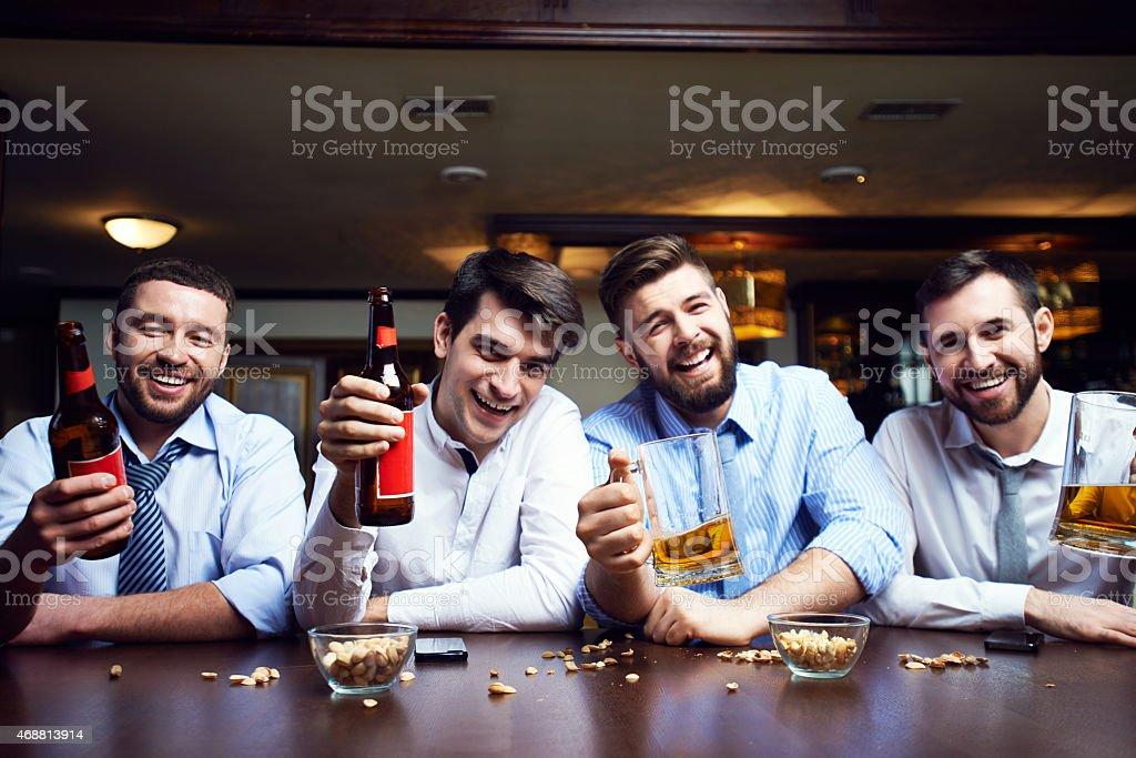 Rest for men stock photo