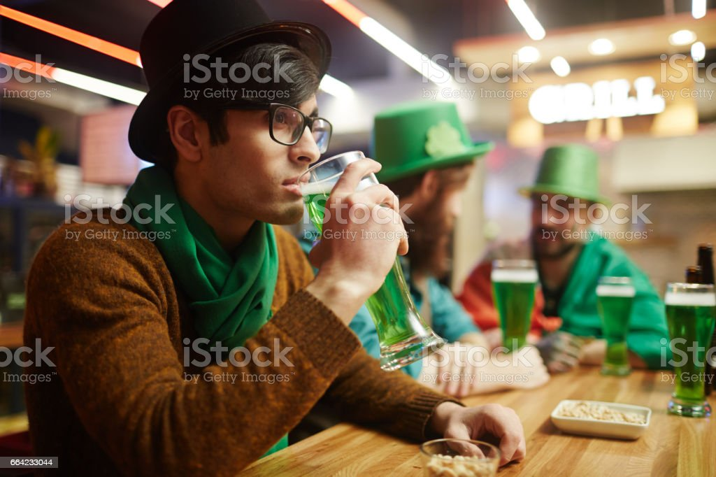 Rest in pub stock photo
