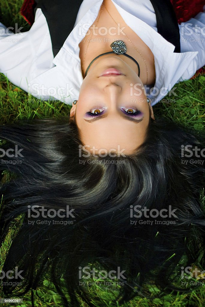 rest with nature royalty-free stock photo