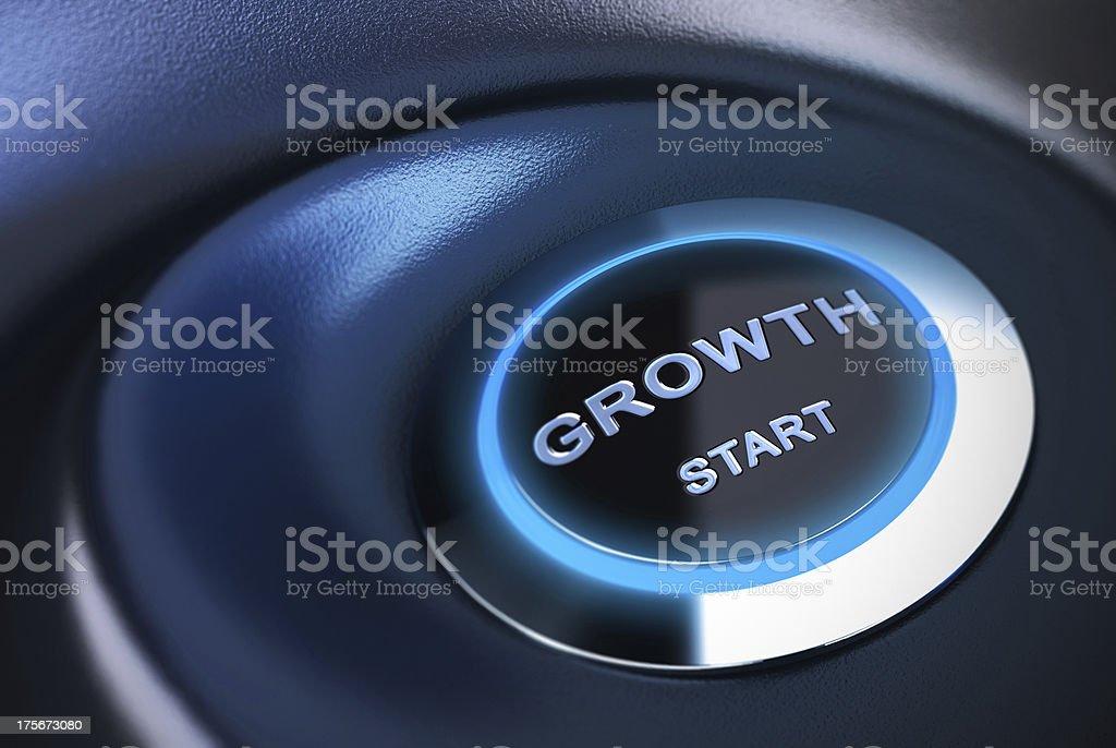 Restarting or Stimulate Economy, Growth Engine royalty-free stock photo