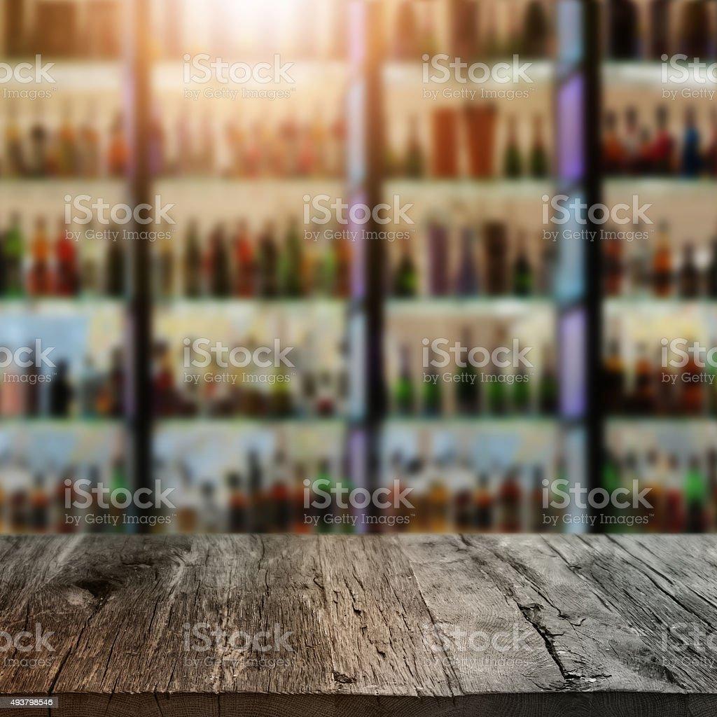 Restaurant backdrop stock photo