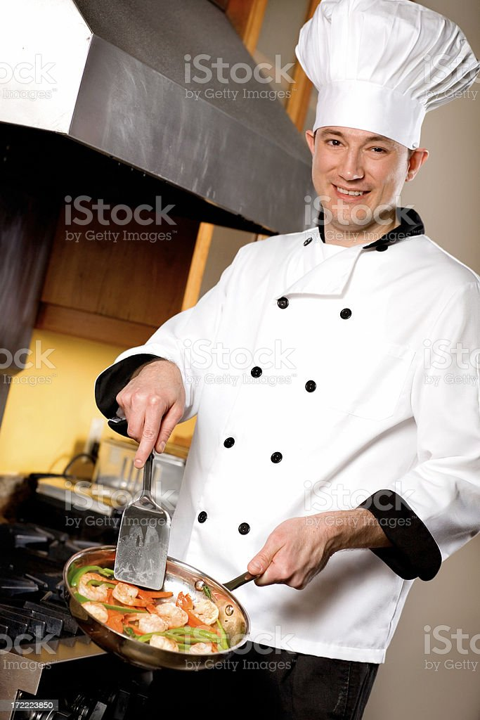 Restaurant Chef royalty-free stock photo