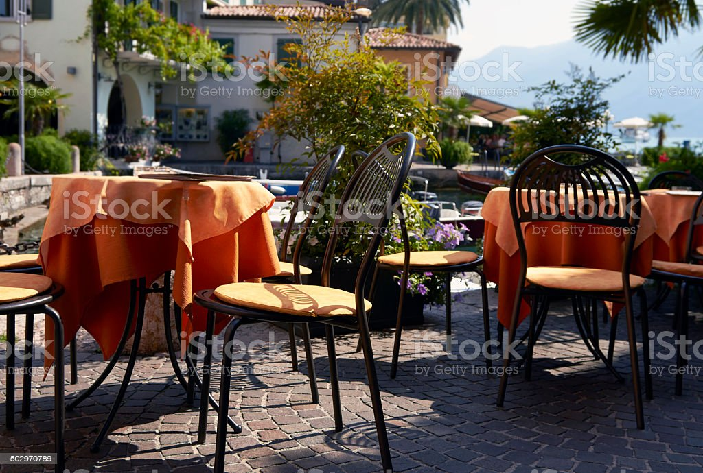 Restaurant. Color Image stock photo