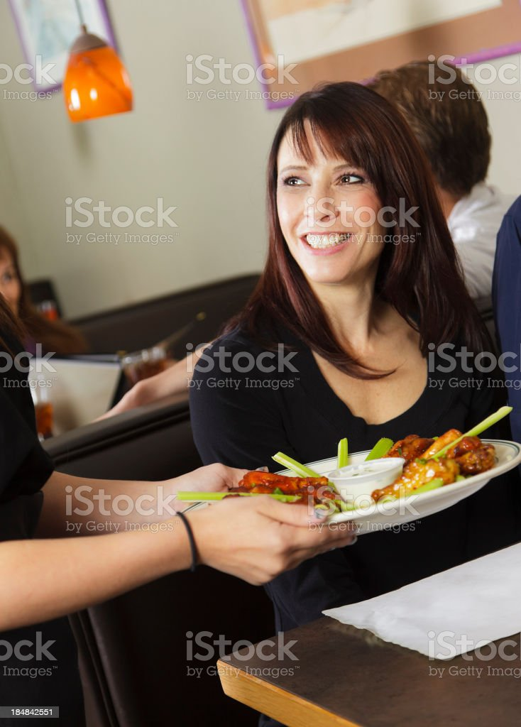 Restaurant Customers royalty-free stock photo