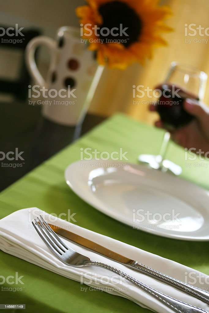 Restaurant Detail royalty-free stock photo