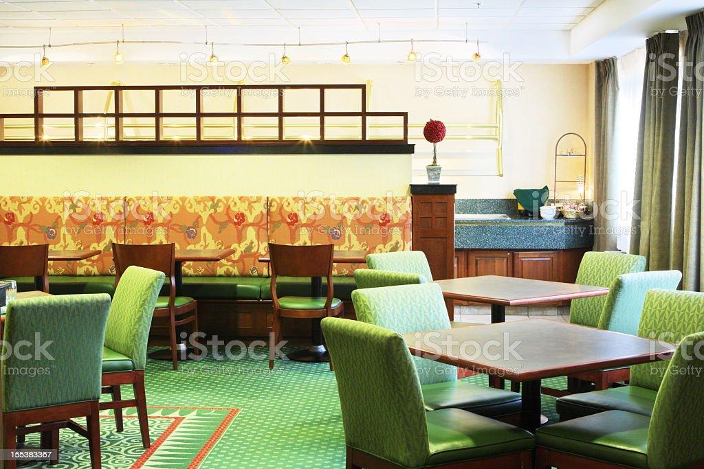 Restaurant Dining Room Decor stock photo