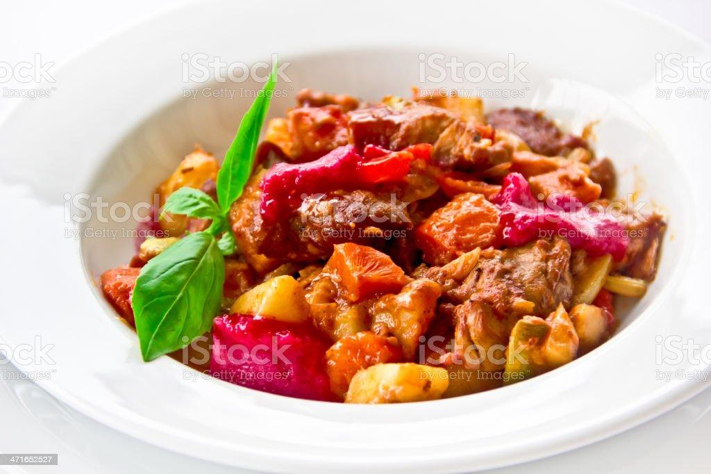 restaurant dish,fancy salad stock photo