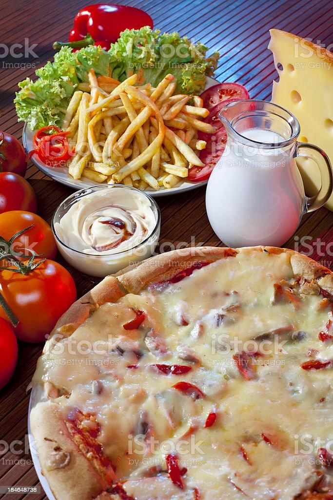 Restaurant food royalty-free stock photo