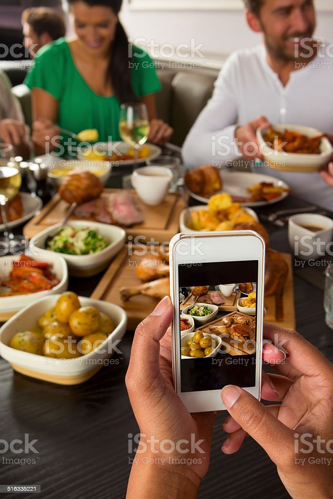 Restaurant Foodie stock photo