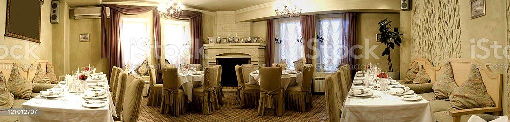 Restaurant hall royalty-free stock photo