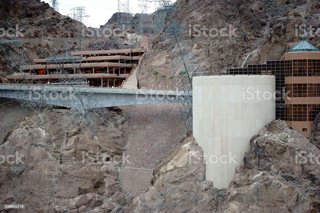 Restaurant Hoover Dam stock photo