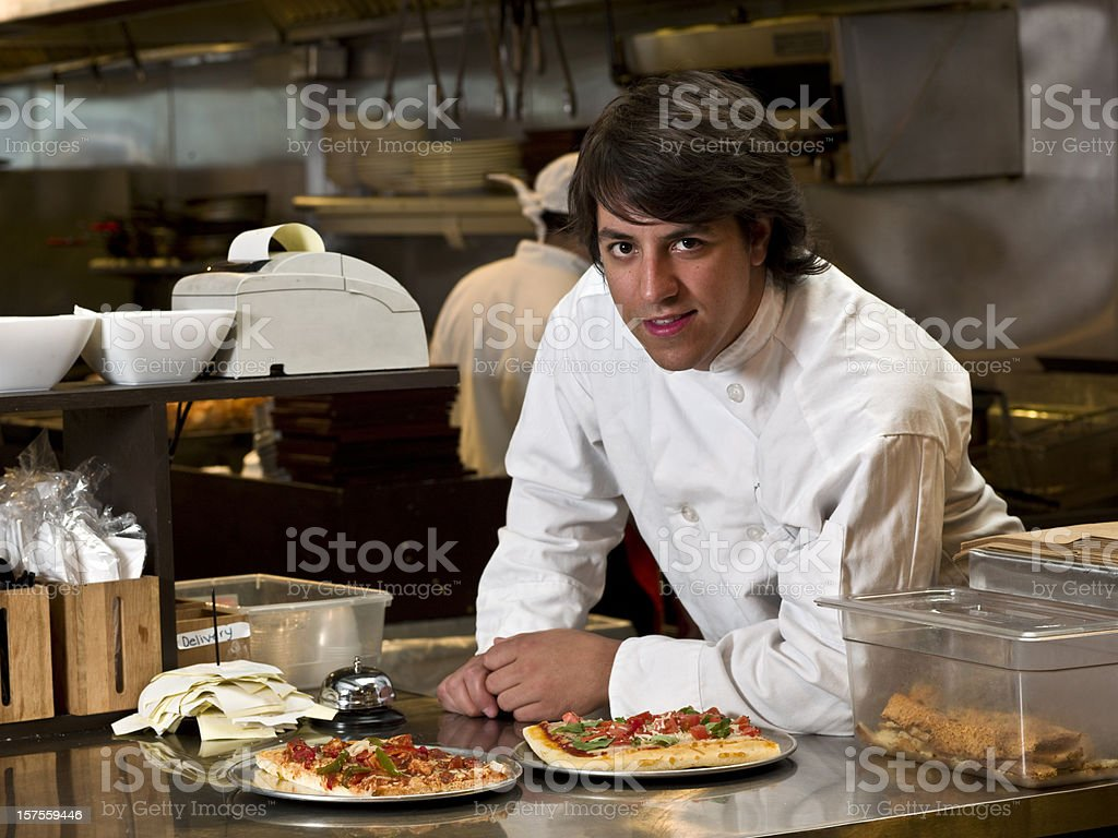 Restaurant Owner stock photo