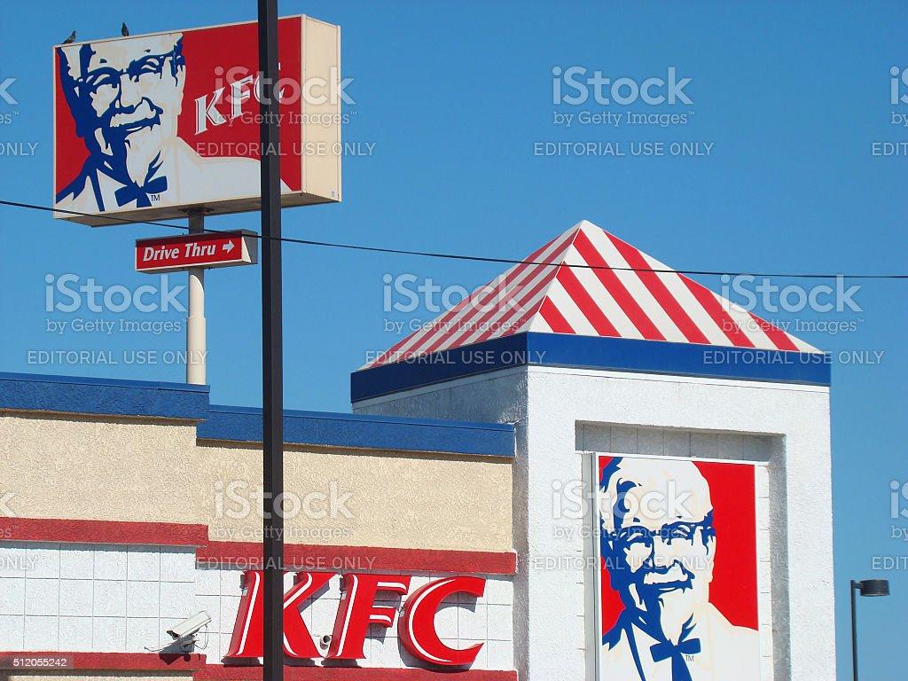 KFC Restaurant stock photo
