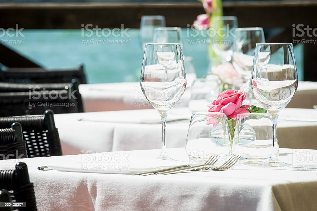 restaurant stock photo