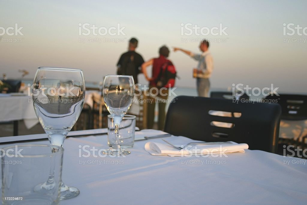 restaurant rules royalty-free stock photo