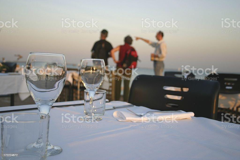 restaurant rules stock photo