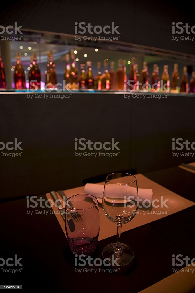 restaurant scene royalty-free stock photo