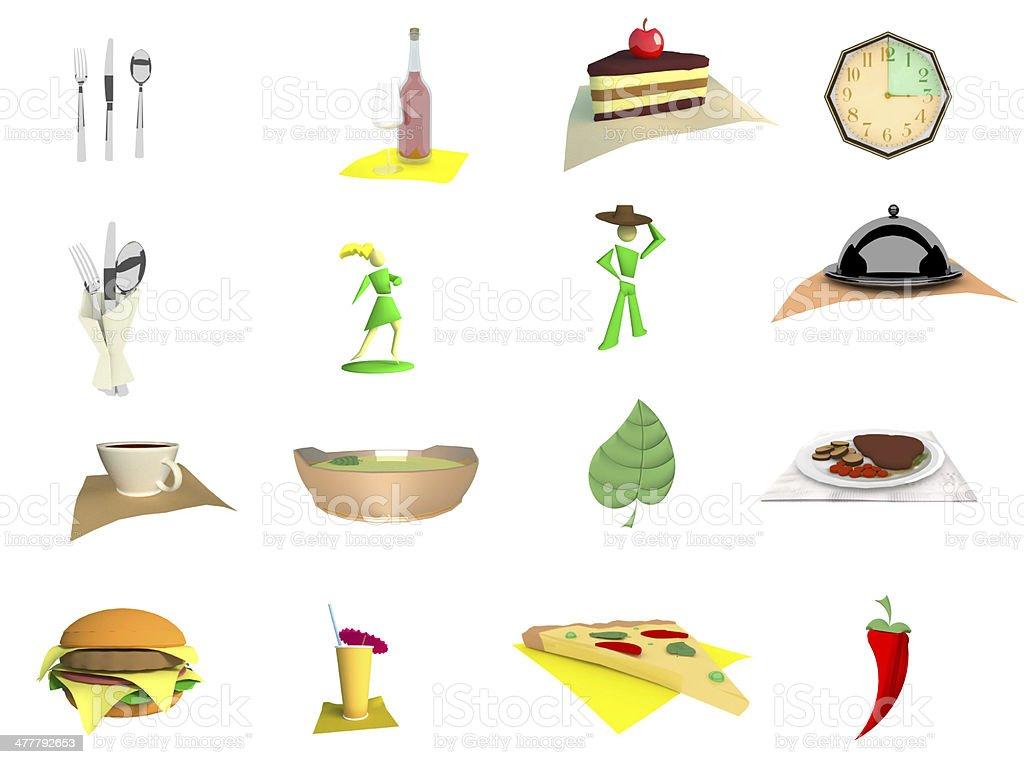 Restaurant services stock photo