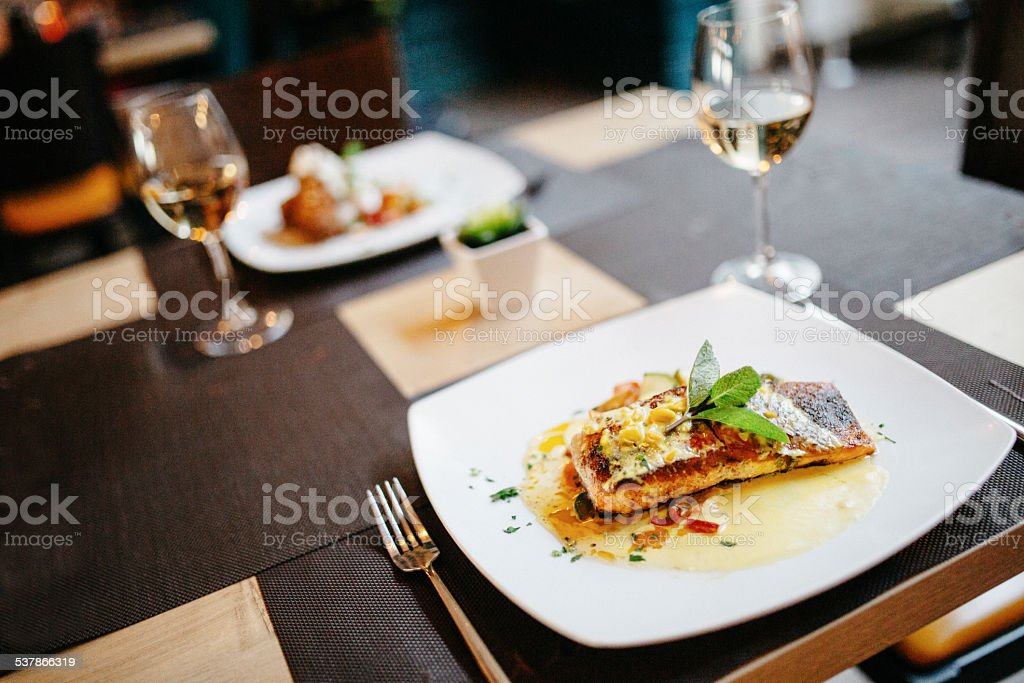 Restaurant Serving stock photo