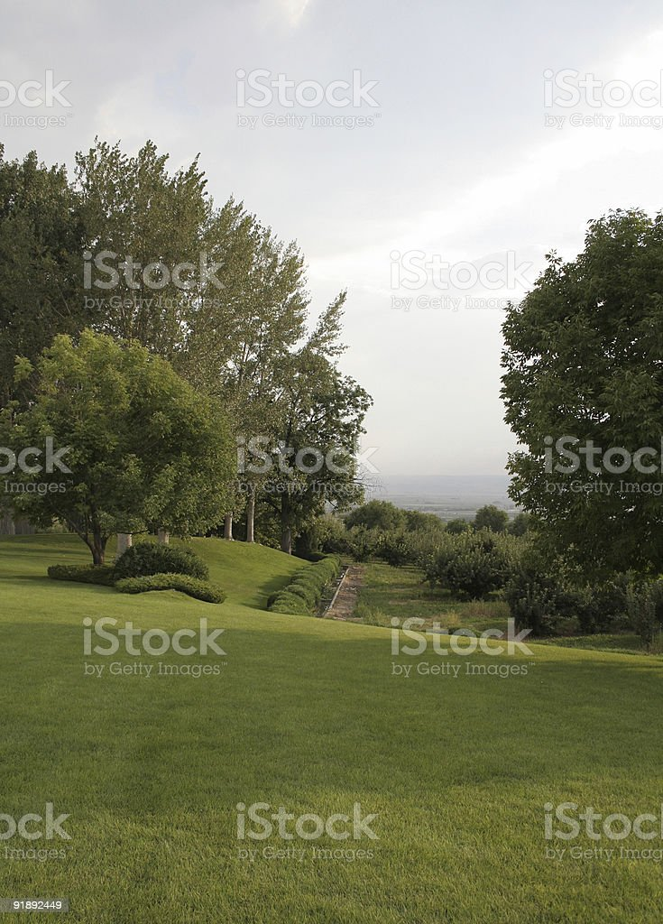 Restful Landscape 1 royalty-free stock photo