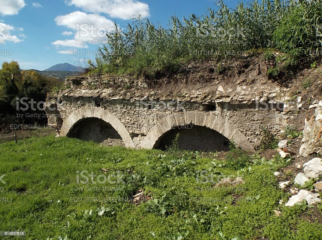 Resti romani stock photo
