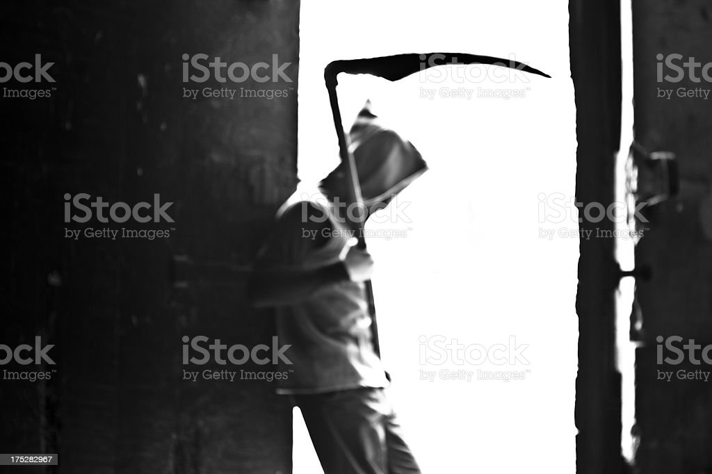 Resting Death royalty-free stock photo