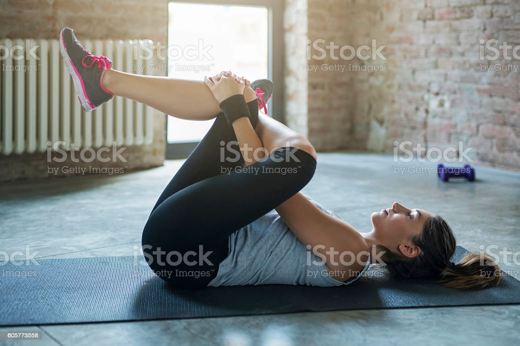 Resting Muscles stock photo