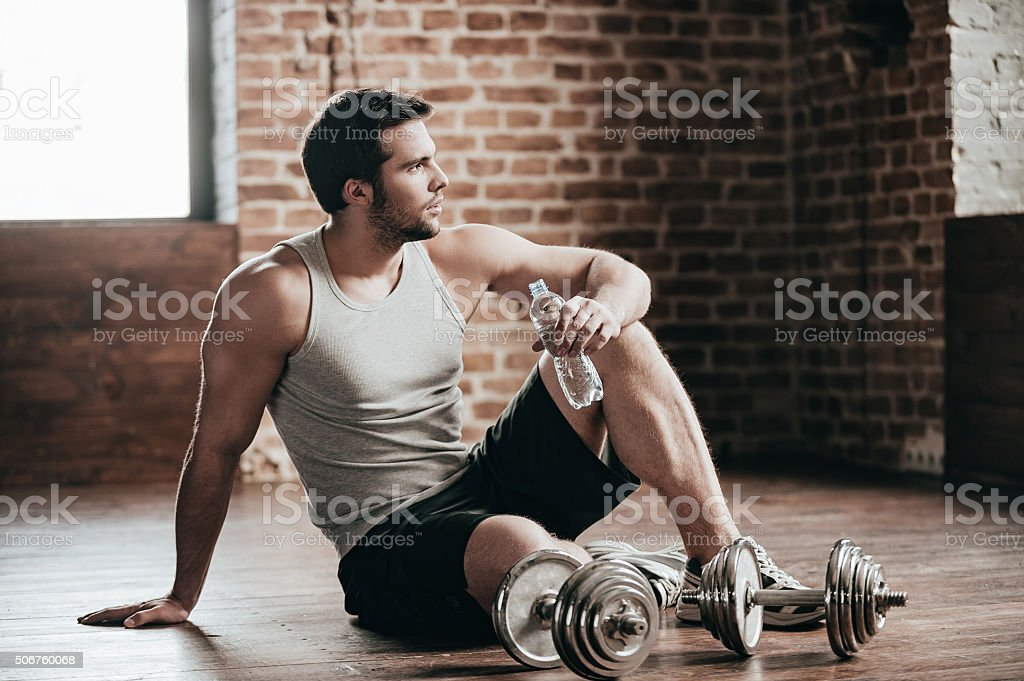 Resting time. stock photo