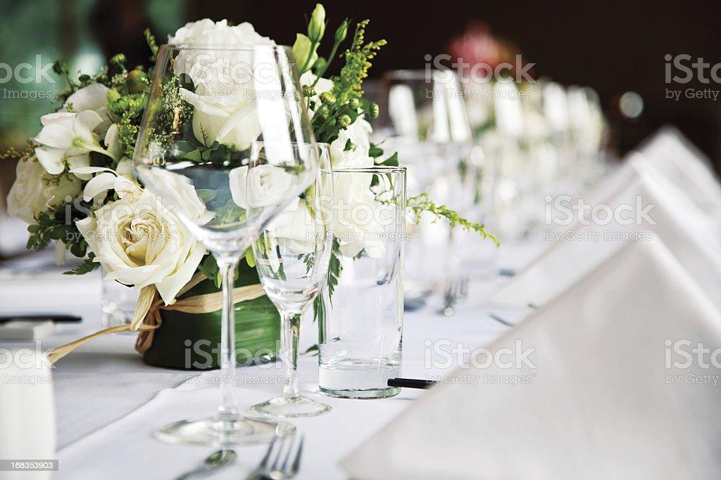 restoran table stock photo