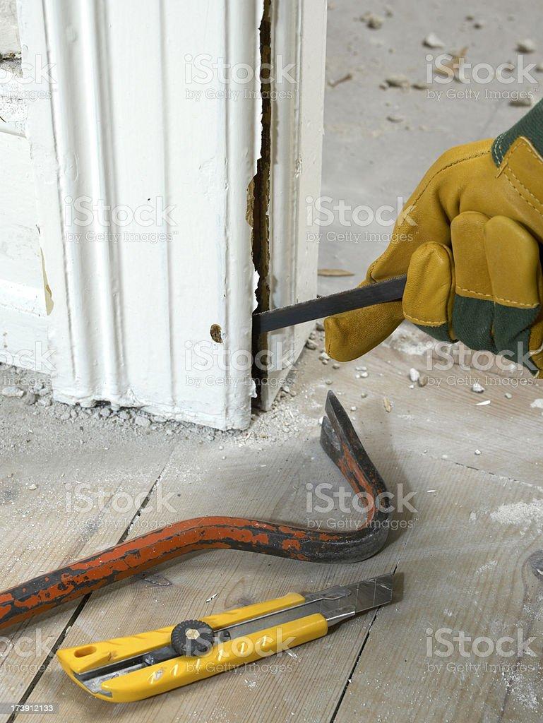 Restore the home stock photo