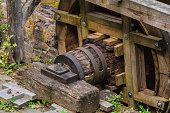 Restored Mill Wheel of an old Water Mill