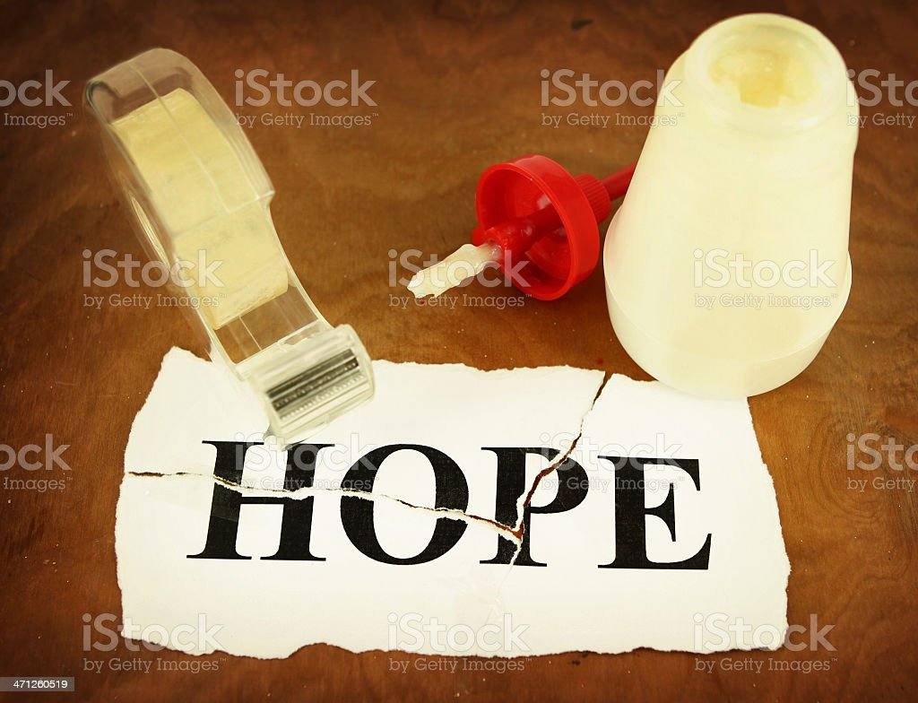 Restoring Hope royalty-free stock photo