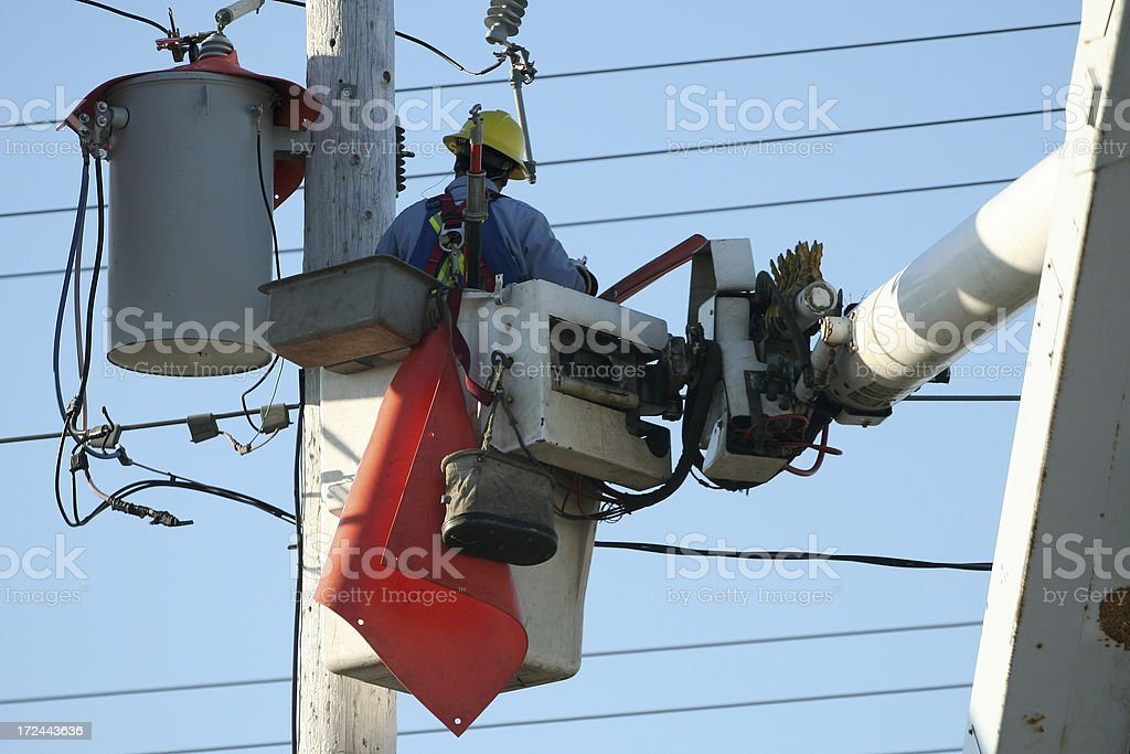 Restoring Power royalty-free stock photo