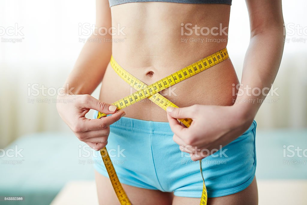Result of diet stock photo