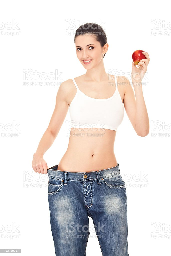 results of healthy diet, concept royalty-free stock photo