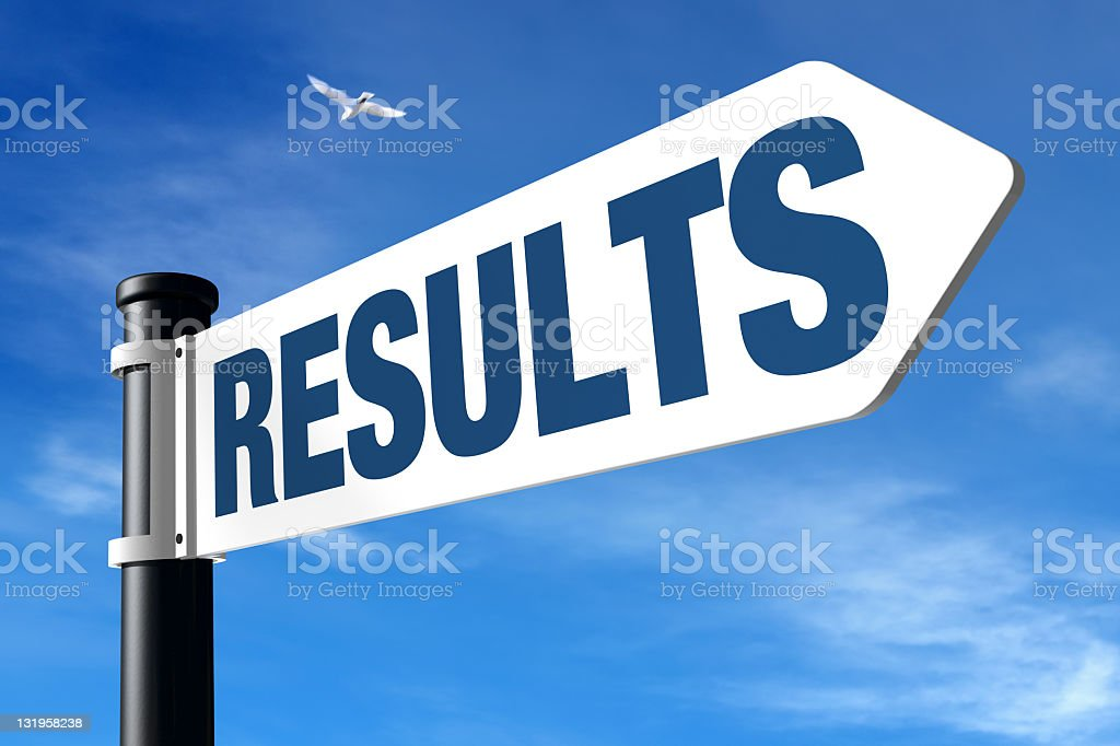 Results royalty-free stock photo