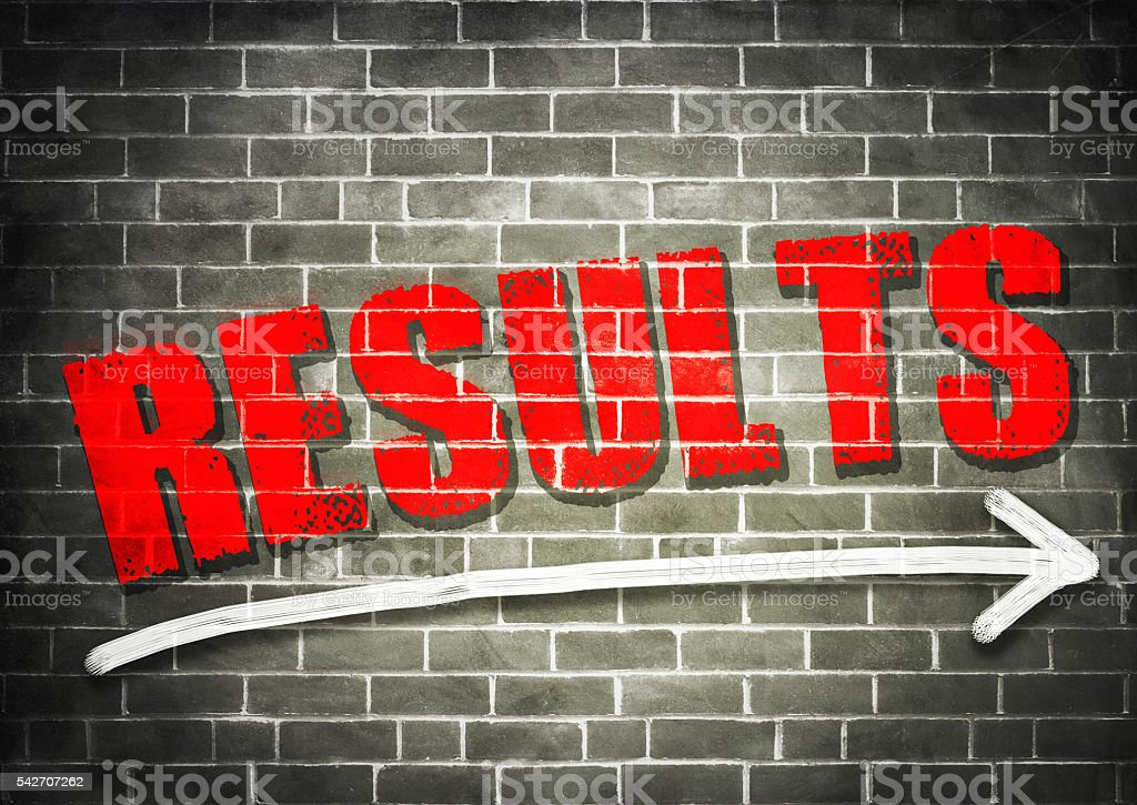 Results stock photo