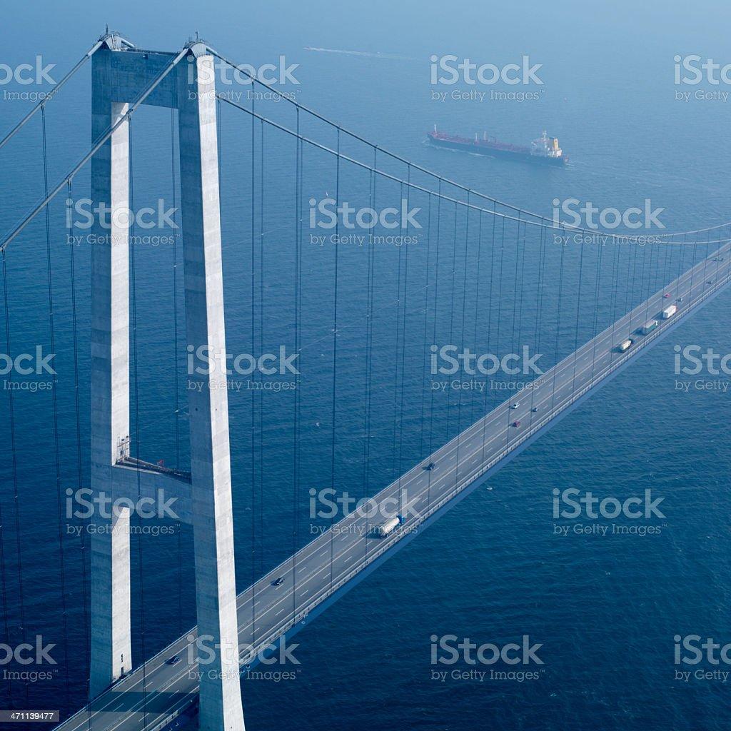ôresund bridge stock photo