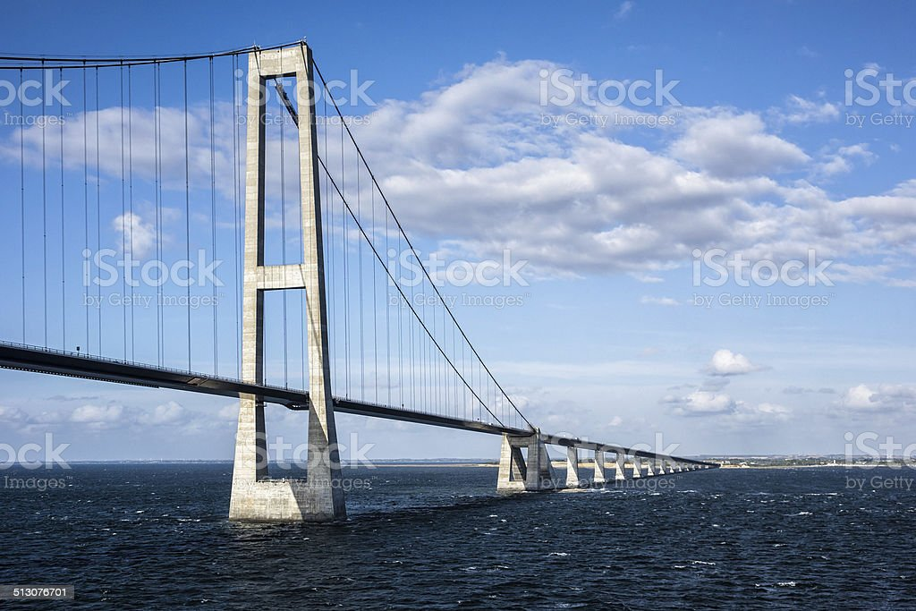 ?resund bridge stock photo